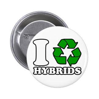I Heart Hybrids Pins