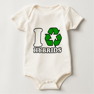 I Heart Hybrids Bodysuits