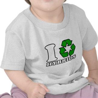 I Heart Hybrids Tshirts