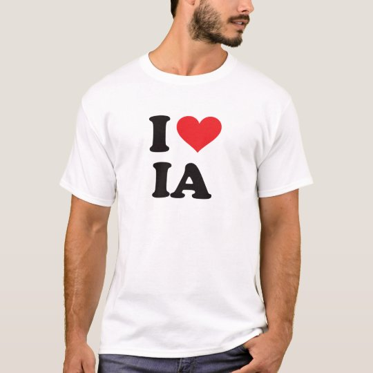 I Heart IA - Iowa T-Shirt