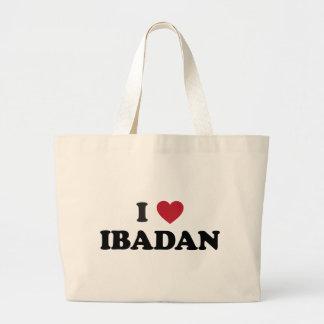 I Heart Ibadan Nigeria Jumbo Tote Bag