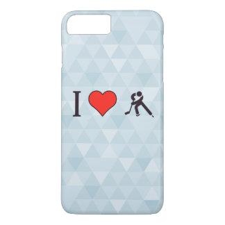 I Heart Ice Hockey Players iPhone 7 Plus Case