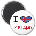 I Heart Iceland Fridge Magnets