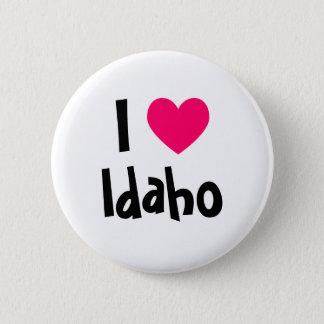 I Heart Idaho 6 Cm Round Badge