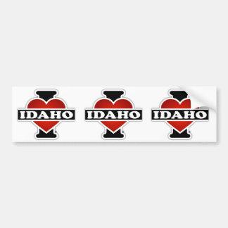 I Heart Idaho Bumper Sticker