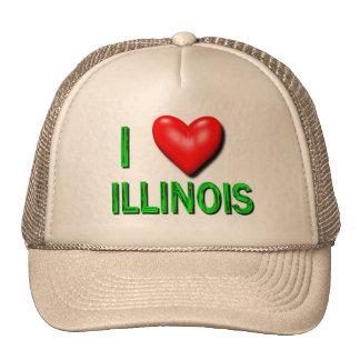 I Heart Illinois Cap