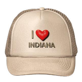 I Heart Indiana Cap