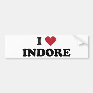 I Heart Indore India Bumper Sticker