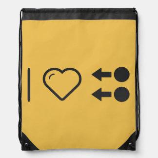 I Heart Instructions Rucksacks