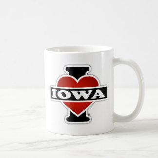 I Heart Iowa Basic White Mug