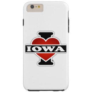 I Heart Iowa Tough iPhone 6 Plus Case