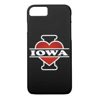 I Heart Iowa iPhone 7 Case