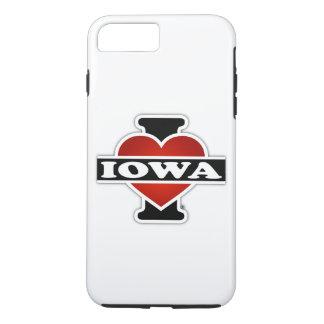 I Heart Iowa iPhone 7 Plus Case