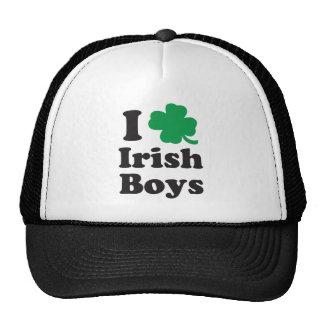 I heart Irish Boys Mesh Hat