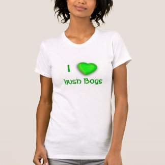 I Heart Irish Boys Tee Shirt