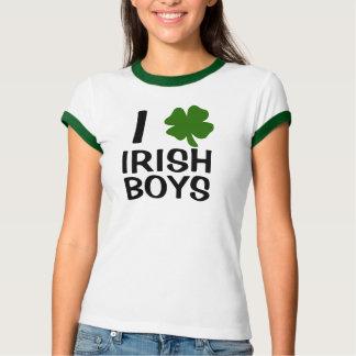 I Heart Irish Boys Tshirts