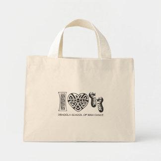 I Heart Irish Dance Canvas Bags