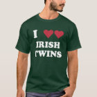 "I ""HEART"" IRISH TWINS T-Shirt"