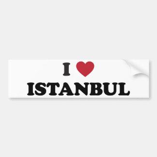I Heart Istanbul Turkey Bumper Sticker