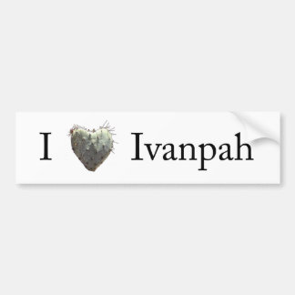 I [heart] Ivanpah Bumper Sticker