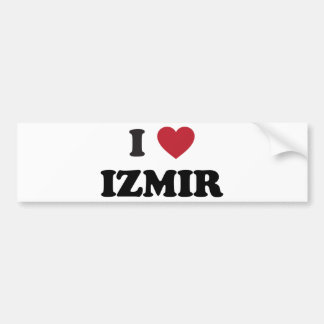 I heart Izmir Turkey Bumper Sticker