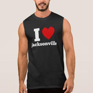 I Heart Jacksonville Sleeveless T-shirt