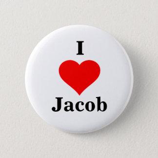 I Heart Jacob Button