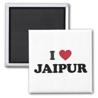 I Heart Jaipur India Square Magnet