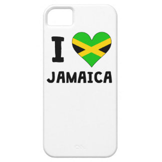 I Heart Jamaica iPhone 5 Cover