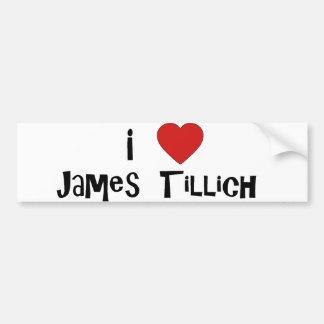 I Heart James Tillich Bumper Sticker