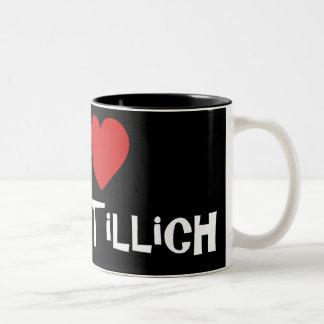 I Heart James Tillich Two-Tone Mug