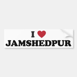 I Heart Jamshedpur India Bumper Sticker