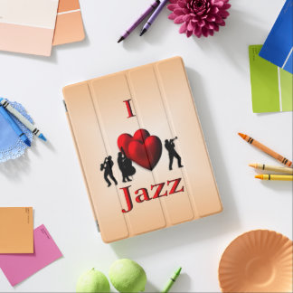 I Heart Jazz iPad Cover