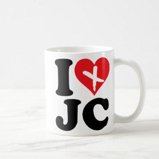 I Heart JC Coffee Mugs