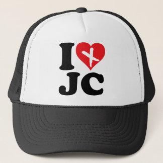 I Heart JC Trucker Hat