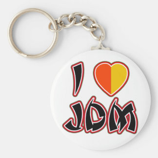 I Heart JDM (Kareha) Key Ring