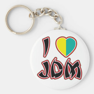 I Heart JDM (Wakaba) Key Ring