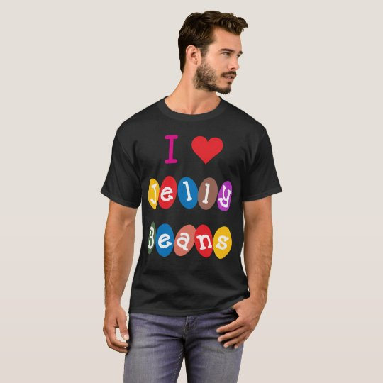 I Heart Jelly Beans Love Sweets Candy T-Shirt