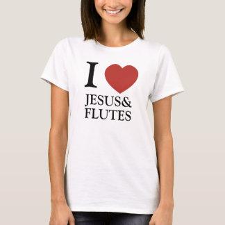 I Heart Jesus & Flutes T-Shirt