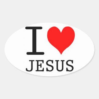 I Heart Jesus Sticker