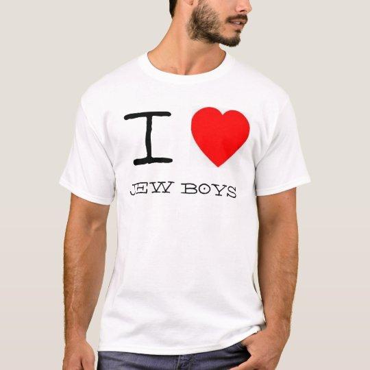 I *heart* Jew Boys T-Shirt