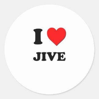 I Heart Jive Sticker