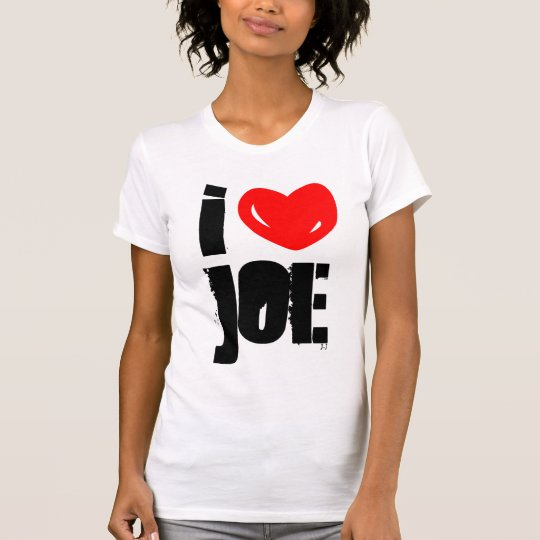 I Heart Joe T-Shirt