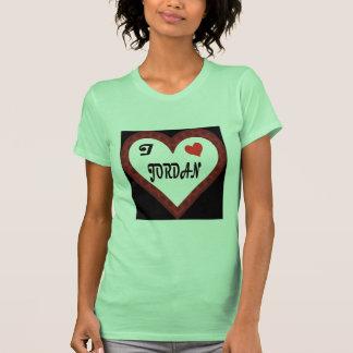 I Heart Jordan T Shirt