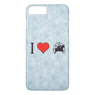 I Heart Jumping Horses iPhone 7 Plus Case
