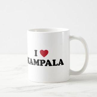 I Heart Kampala Uganda Basic White Mug