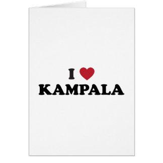 I Heart Kampala Uganda Greeting Card