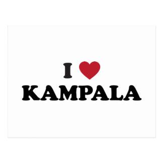 I Heart Kampala Uganda Postcard