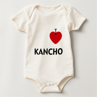 I_Heart_Kancho Baby Bodysuit