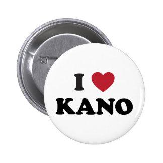 I Heart Kano Nigeria Buttons